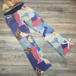 DKNY patchwork print Boho Festival jeans Sz 3